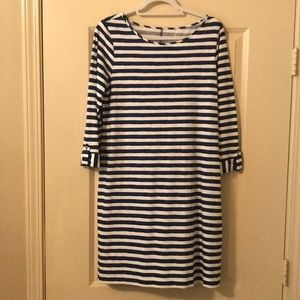 Lily Pulitzer navy striped dress